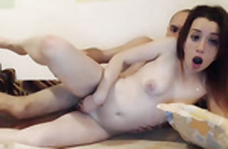 Redhead puny titted inexperienced fucked on cam